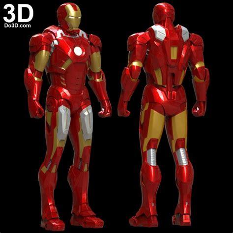 printable model mark vii tony stark armor mk