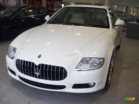 White Maserati Quattroporte 2009 Bianco Fuji White Maserati Quattroporte S 3613399 Gtcarlot Car Color Galleries
