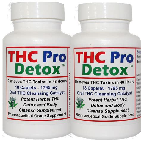 Thc Detox Supplements by Thc Detox Thc Pro Detox 48 Hours To Cleanse Thc Toxins