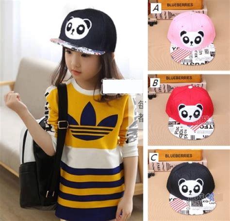 Topi Anak Kupluk Anak Panda grosir baju anak murah dan perlengkapan bayi anda