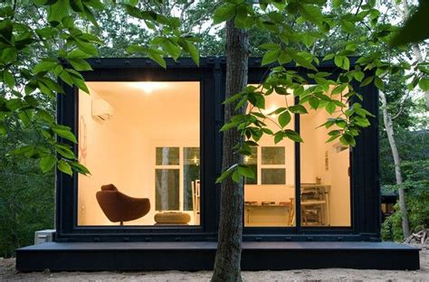 Small Homes Made From Shipping Containers Shipping Container House In Amagansett Small Scaled
