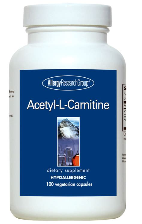 Acetylene L by Acetyl L Carnitine 500 Mg 100 Vegetarian Caps