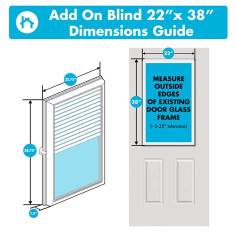 Add On Blinds For Raised Or Flush Frame Door Glass - odl enclosed blinds odl white cordless add on enclosed