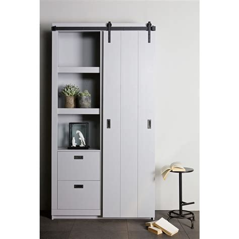 Armoire Porte Coulissante by Armoire Design Bois Porte Coulissante Barn By Drawer