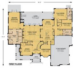 custom house design floor plan custom home design