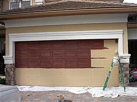 can i paint my garage door d and d garage doors