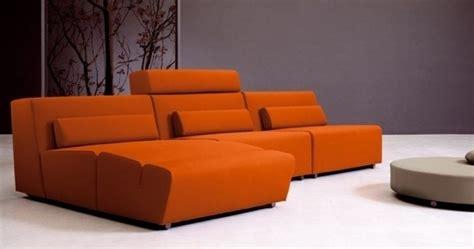canape orange canape design orange