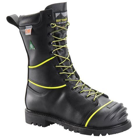 mining boots matterhorn 10 inch insulated met guard steel toe mining