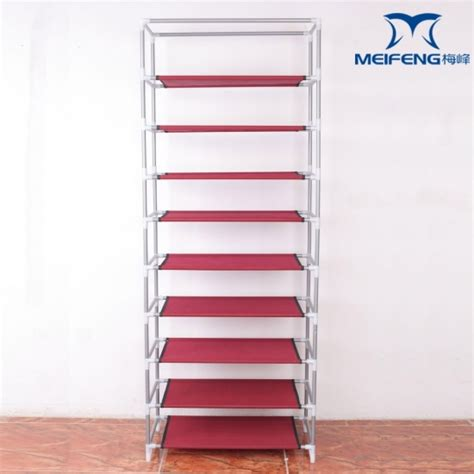 Fabric Rack by 9 Tier Non Woven Fabric Shoe Rack Cabinet Products 9 Tier