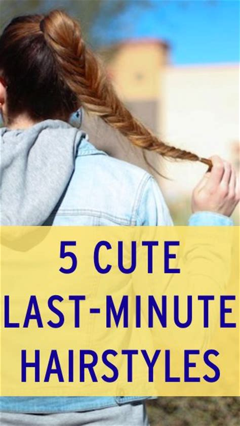 easy last minute hairstyles for school and easy hairstyle ideas hair style easy braid hairstyle ideas easy