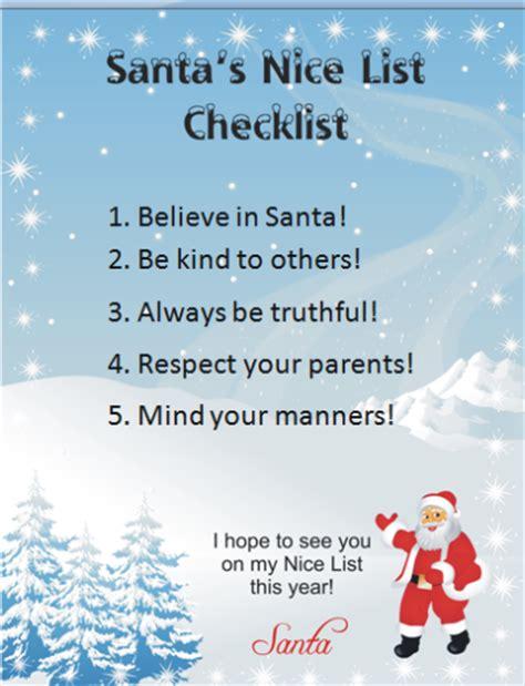 printable santa good list 5 free santa printables for kids webnuggetz com