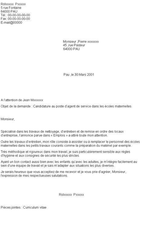 Lettre De Motivation Ecole Viticulture lettre de motivation employe de bureau 28 images les