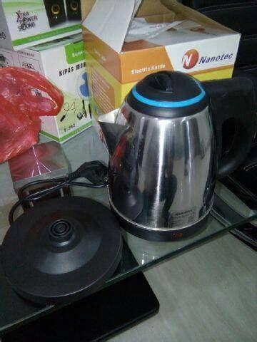 Teko Listrik Natsuper jual teko listrik pemanas air kettle electric fleco