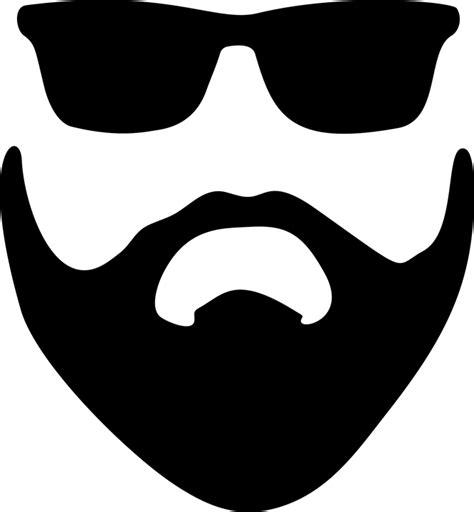 imagem vetorial gratis barba cabelo 211 culos de
