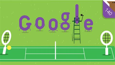 doodle anniversary wimbledon chionship doodle marks 140th