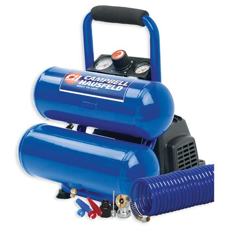 cbell hausfeld 174 2 gallon twinstack air compressor 167125 air tools at sportsman s guide