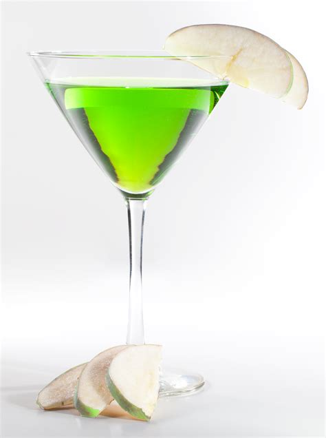martinis martini green apple martini recipe dishmaps