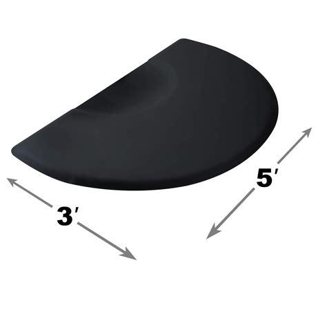 Half Circle Chair by Semi Circle Anti Fatigue Salon Barber Chair Floor Mat Ebay