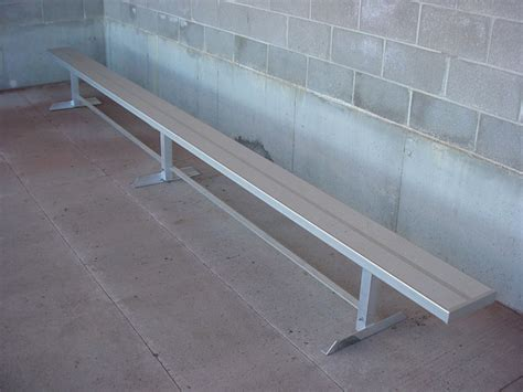 player benches sports fence premier fence kc
