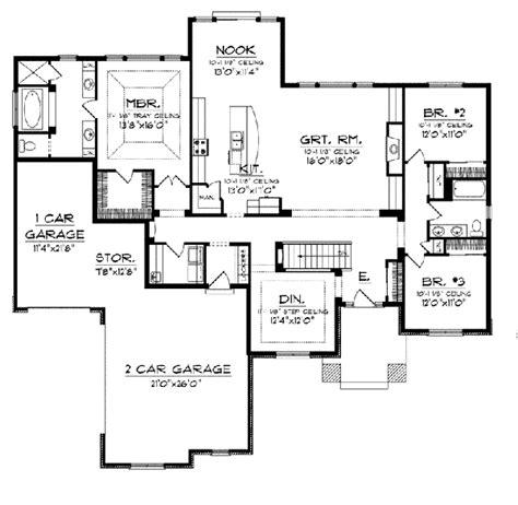prairie style floor plans chardonelle prairie style home plan 051d 0746 house