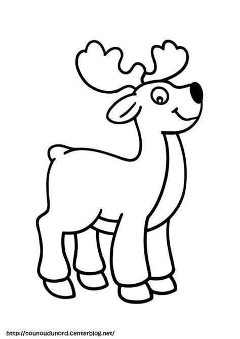 Coloriage le renne