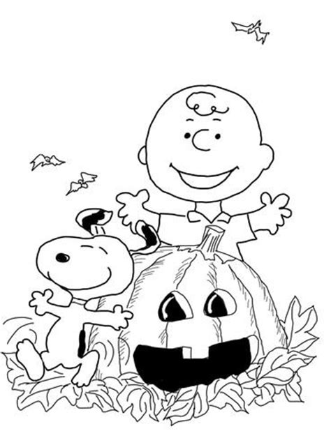 halloween coloring pages charlie brown charlie brown halloween halloween coloring pages and