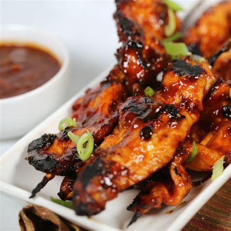 easy sticky chicken skewers an easy grilled chicken
