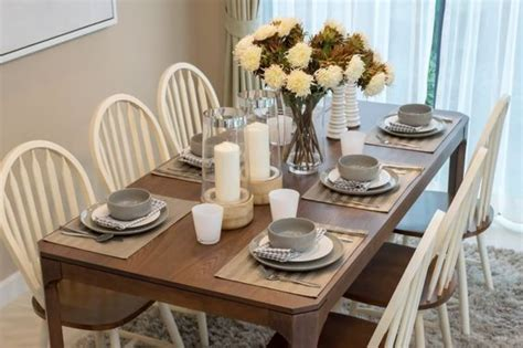 everyday kitchen table setting ideas brokeasshome
