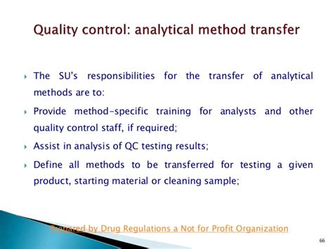 Who Guidance On Technology Transfers Analytical Method Transfer Protocol Template