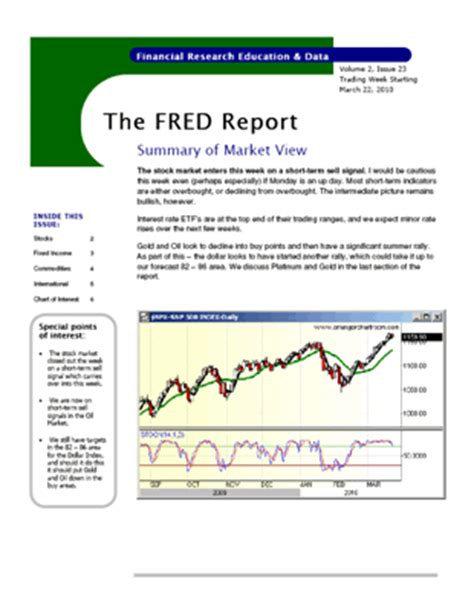 investment report template 28 images monthly report