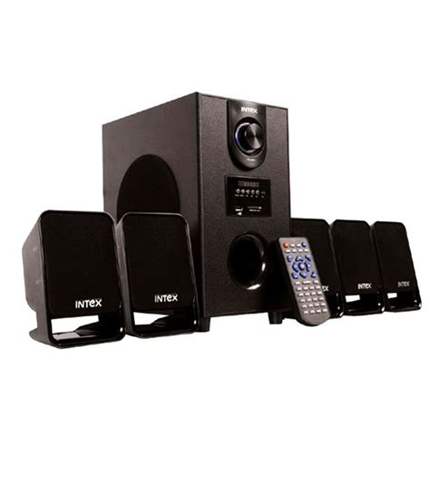 intex it 500 suf 5 1 speaker system price in india 06 feb