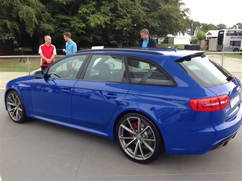 Audi Rs4 Nogaro Selection by Audi Shows Off Rs4 Avant Nogaro Selection At Goodwood