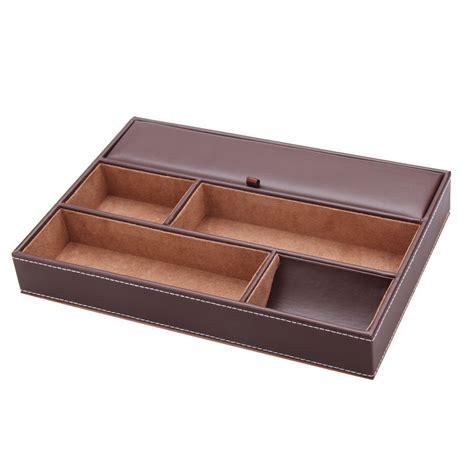 Office Desk Trinkets Storage Box Tray Office Household Organizer Desk
