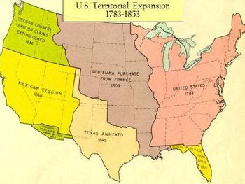 united states in 1783 map territorial expansion of the united states 1783 1853