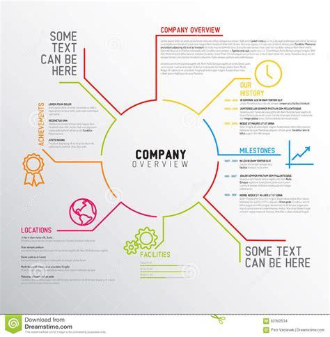 vector company infographic概要设计模板 库存例证 图片 62362534