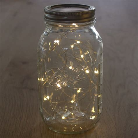 lights in a jar create the look of fireflies in a jar with our led