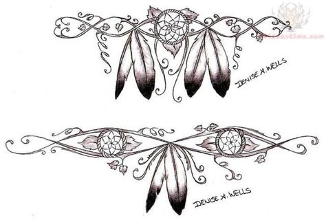 dreamcatcher garter tattoo dreamcatcher garter loving it tattoos pinterest