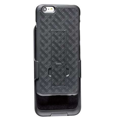 wizgear shell holster combo case  apple iphone