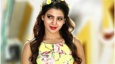 android hd actress wallpaper samantha ruth telugu actress hd wallpaper 9hd wallpapers