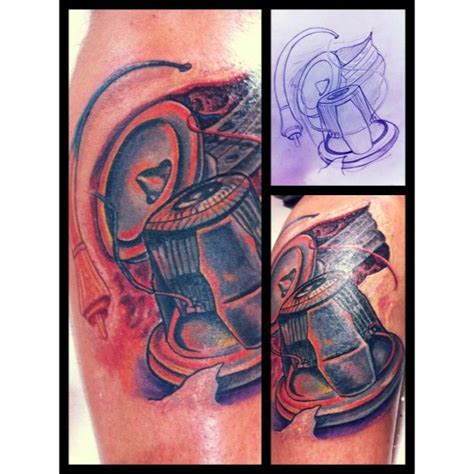 stereo tattoo designs car audio addiction and audio on