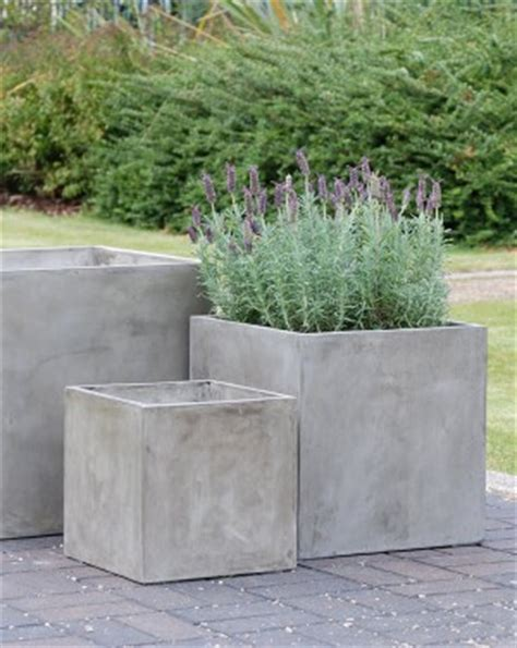 Concrete Garden Planters Large by Outdoor Garden Pots And Planter Boxes Iota Australia
