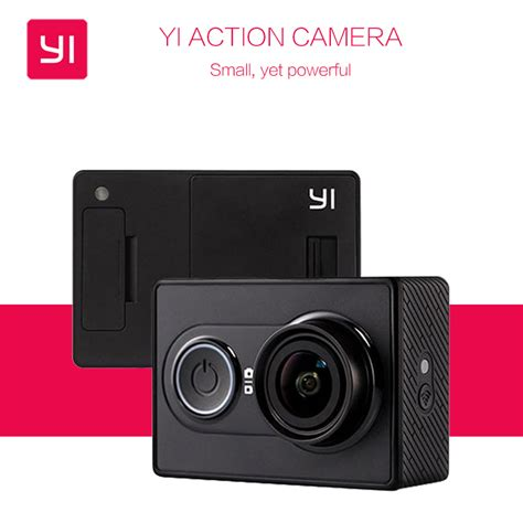 Xiaomi Yi Wifi 16mp 1080p 60 Fps 2 international version yi 16mp xiaoyi 1080p ambarella a7 bluetooth xiaomi yi