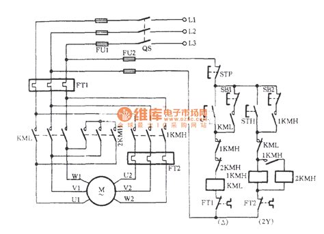 three phase motor wiring diagram wiring diagram for a 3 phase 2 speed motor the with how to