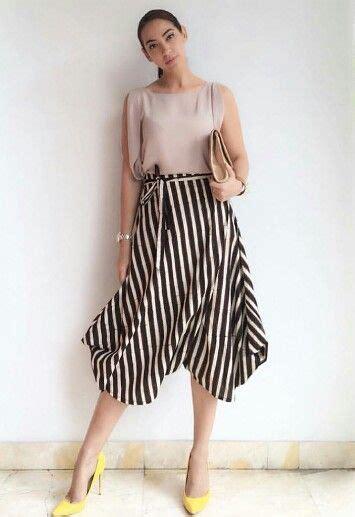 Gamis Skirt 17 terbaik gambar tentang batik di gaun