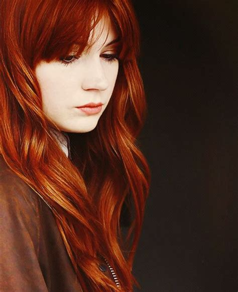 shades of red hair dark copper red hair color long hairstyles