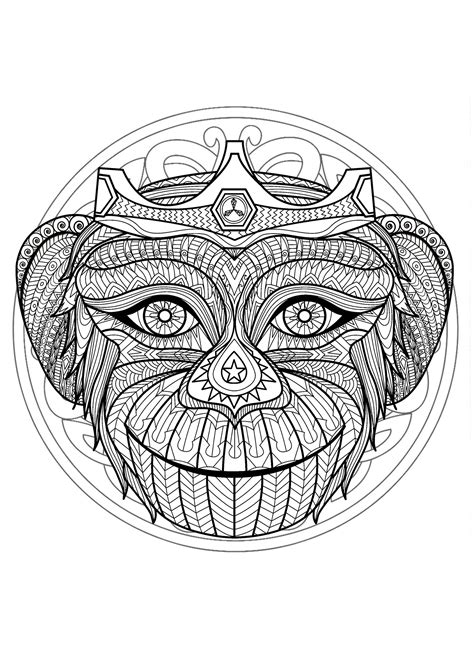 Mandalas to color for kids - Mandalas Kids Coloring Pages