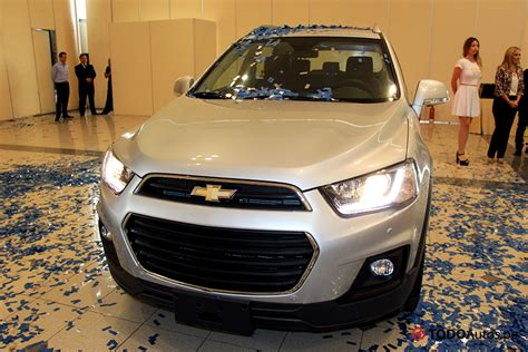 chevrolet captiva 2016 nuevo chevrolet captiva 2016 as 237 es el facelift de la suv