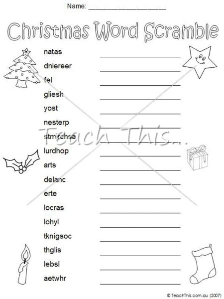 printable christmas word scramble holiday word scramble pictures to pin on pinterest pinsdaddy
