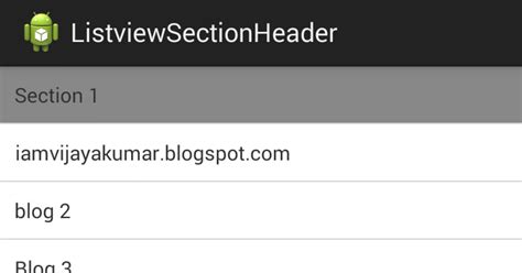 android listview with section android beginning bunch android listview section header