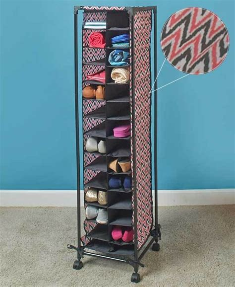 rolling shoe storage 17 best images about space savers on wall